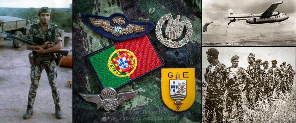 African Special Operations Insignia #3 – Portuguese Mozambique's Grupos Especiais Pára-quedistas 1971-74