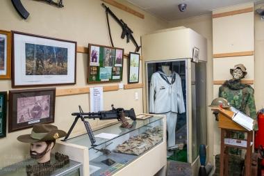 Birdwood Military Museum display room. Photo: Julian Tennant