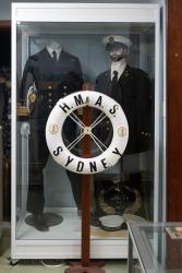 Royal Australian Navy display. Photo: Julian Tennant
