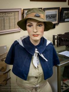 WW2 period Australian Army Medical Women's Service (AAMWS) display. Photo: Julian Tennant