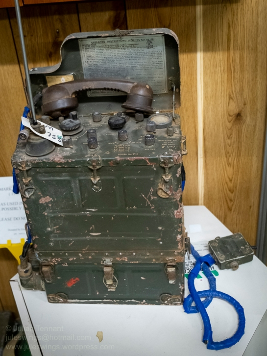 Australian Army Wireless Set No. 128. The Wireless Set Number 128 was an Australian made backpack radio used by the Australian Army made by Tasma Radio (Thom & Smith Ltd, Mascot, NSW) in 1946 and the Mark 2 version in 1952. The physical form was copied from the American BC-1000 transceiver. The radio was tropicalised and was waterproof. It was designed in 1944 as a replacement for the WS No. 108 (the Australian version of the British WSNo.18), and entered service in 1946. It was used by the Army in Korea, and was eventually replaced from 1955 by the A510. Photo: Julian Tennant . Photo: Julian Tennant