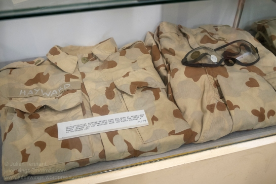 Early 2000's era Australian Desert Pattern Camouflage Uniform (DPCU). Photo: Julian Tennant