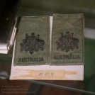Royal Australian Air Force Warrant Officer (WOFF) rank insignia as worn on flight suits. Photo: Julian Tennnt