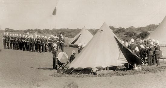 Geraldton Volunteer Rifle Corps 1890